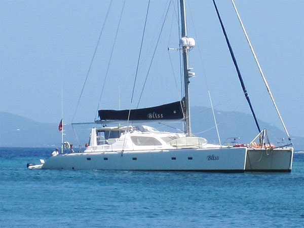Bliss Crewed Catamaran Charter