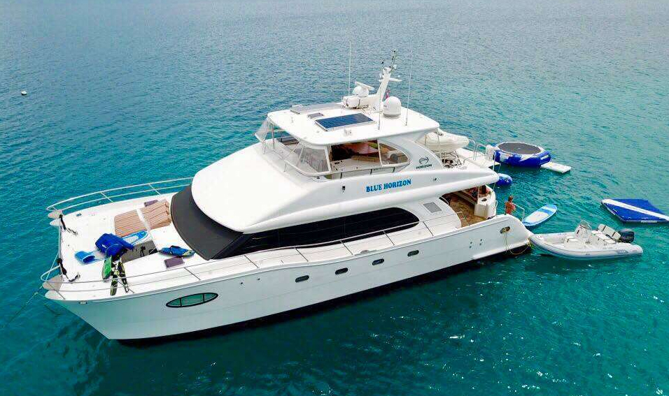 Blue Horizon Crewed Power Yacht Charter