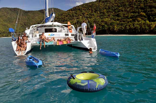 Breanker Crewed Catamaran Charter