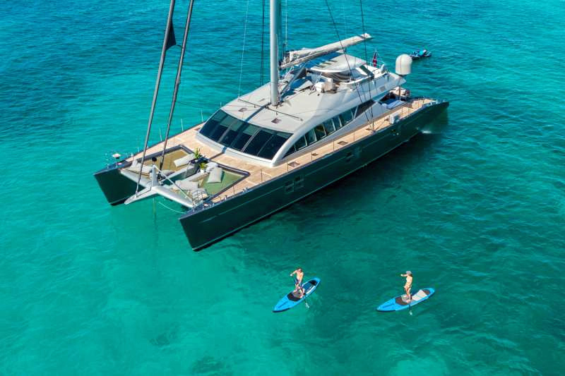 Cartouche Crewed Catamaran Charter