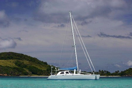 Cerulean Crewed Catamaran Charter