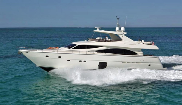 Crystal Parrot Crewed Power Yacht Charter