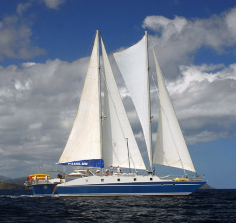 Cuan Law Crewed Yacht Charter