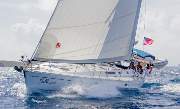 Dalliance Crewed Sailing Yacht Charter
