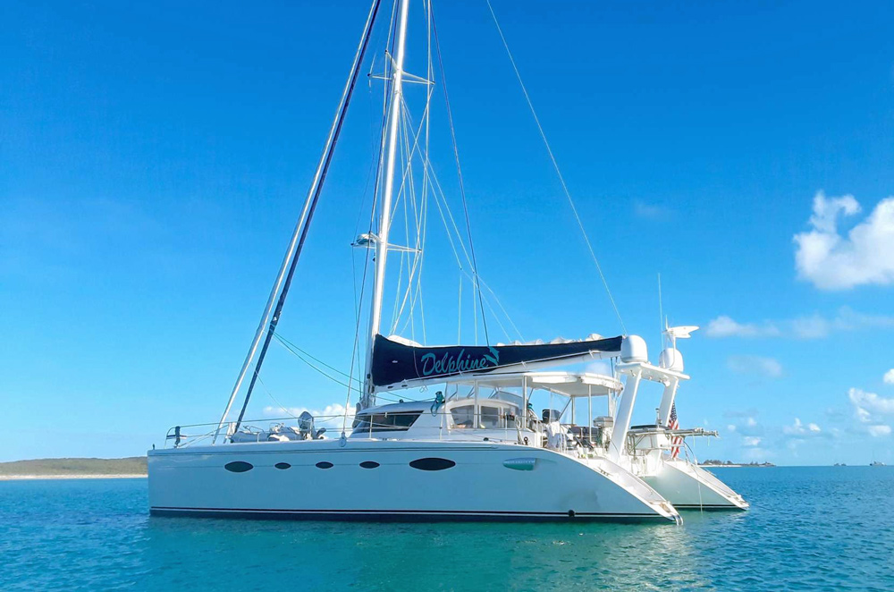 Delphine Crewed Catamaran Charter