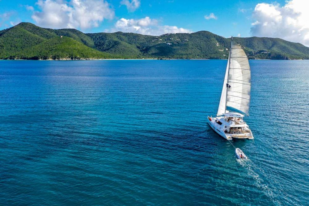 Dolphin Daze Crewed Catamaran Charter