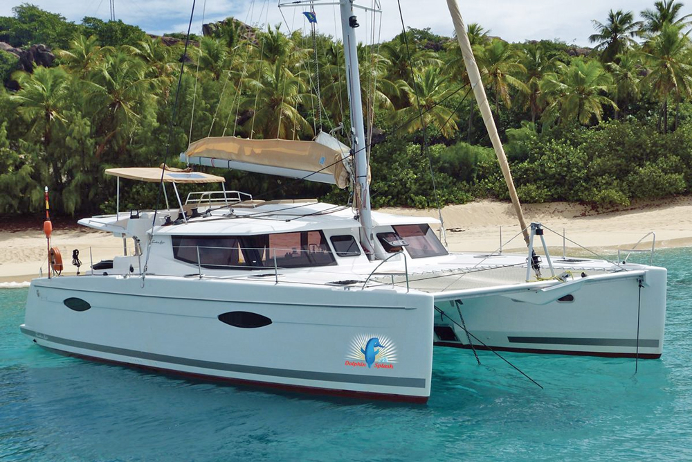 Dolphin Splash Crewed Catamaran Charter