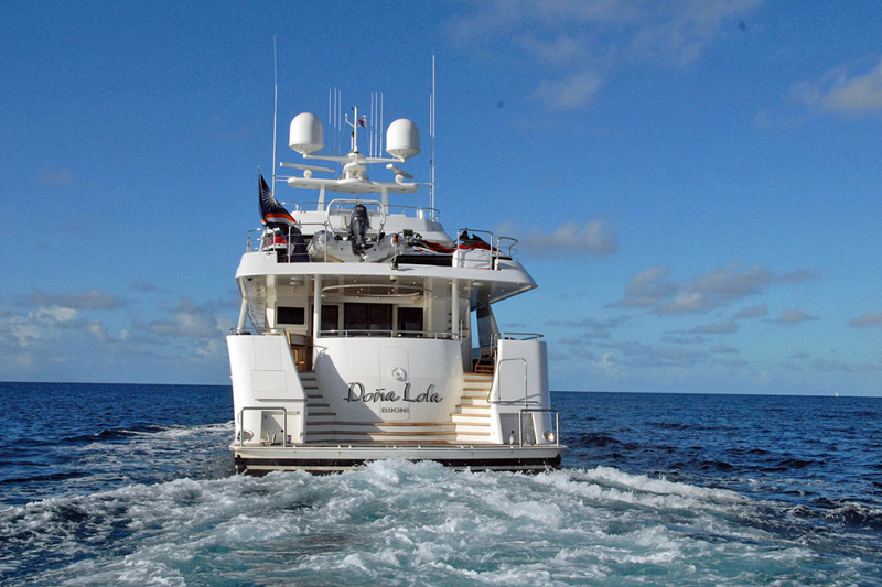 Dona Lola Crewed Power Yacht Charter