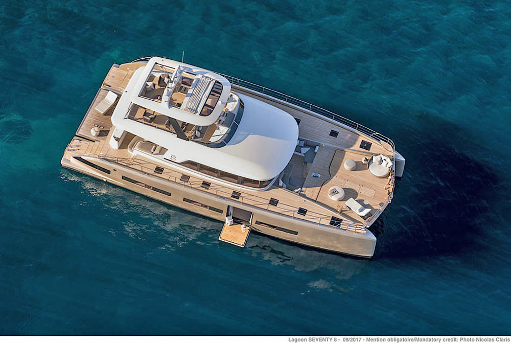 Double Down Crewed Power Yacht Charter