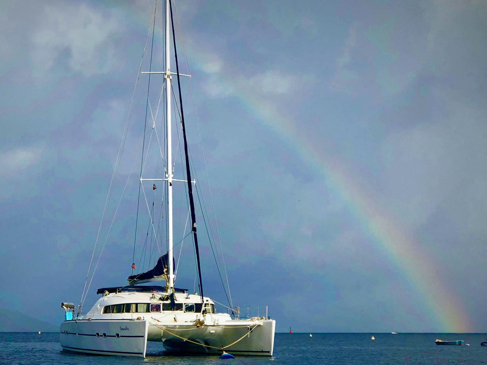 Dreamcatcher Crewed Catamaran Charter
