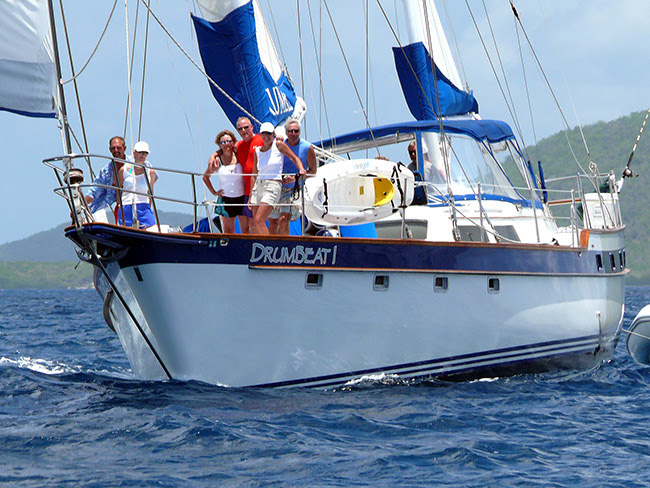 Drumbeat 1 Crewed Sailing Yacht Charter