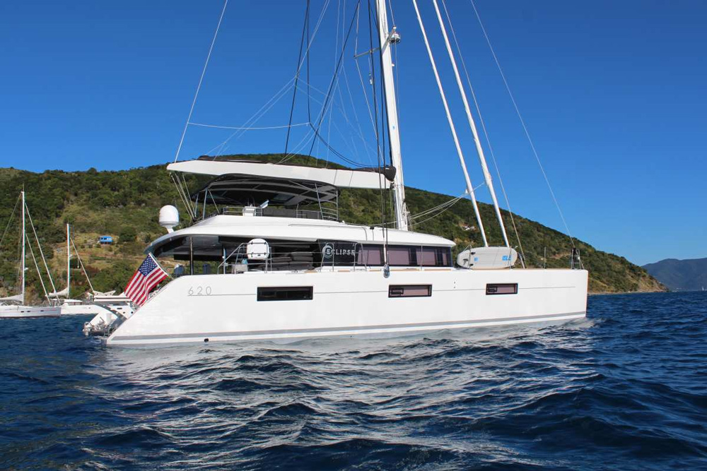 Eclipse Crewed Catamaran Charter