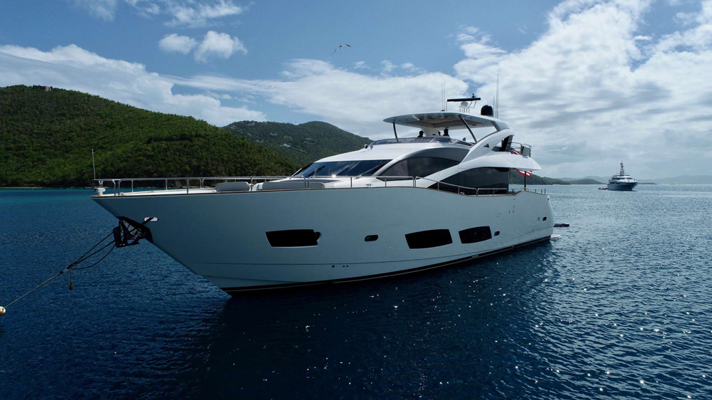 Elite Crewed Power Yacht Charter