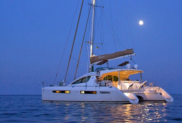 Elysium Crewed Catamaran Charter
