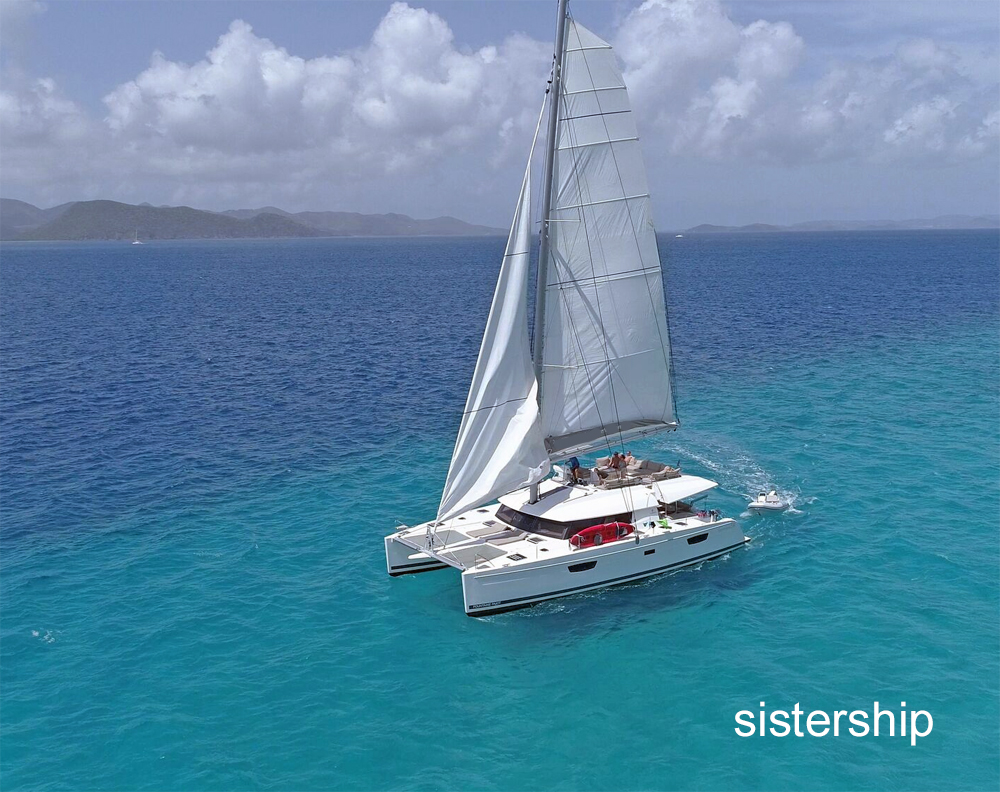Enchante Crewed Catamaran Charter