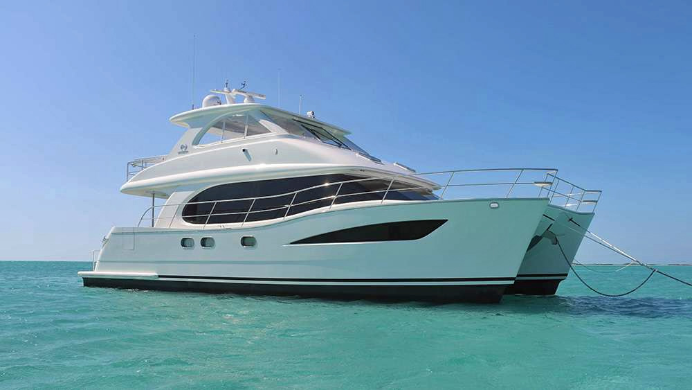 Eternity Crewed Power Yacht Charter