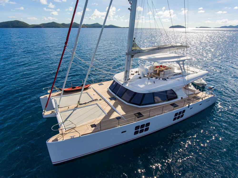 Euphoria Crewed Catamaran Charter