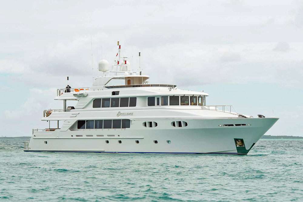 Excellence Crewed Power Yacht Charter