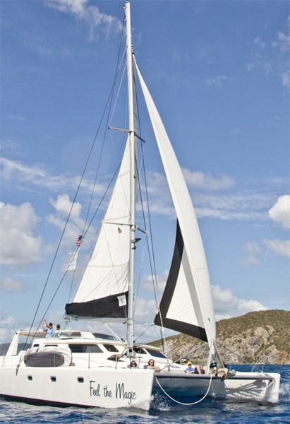 Feel The Magic Crewed Catamaran Charter