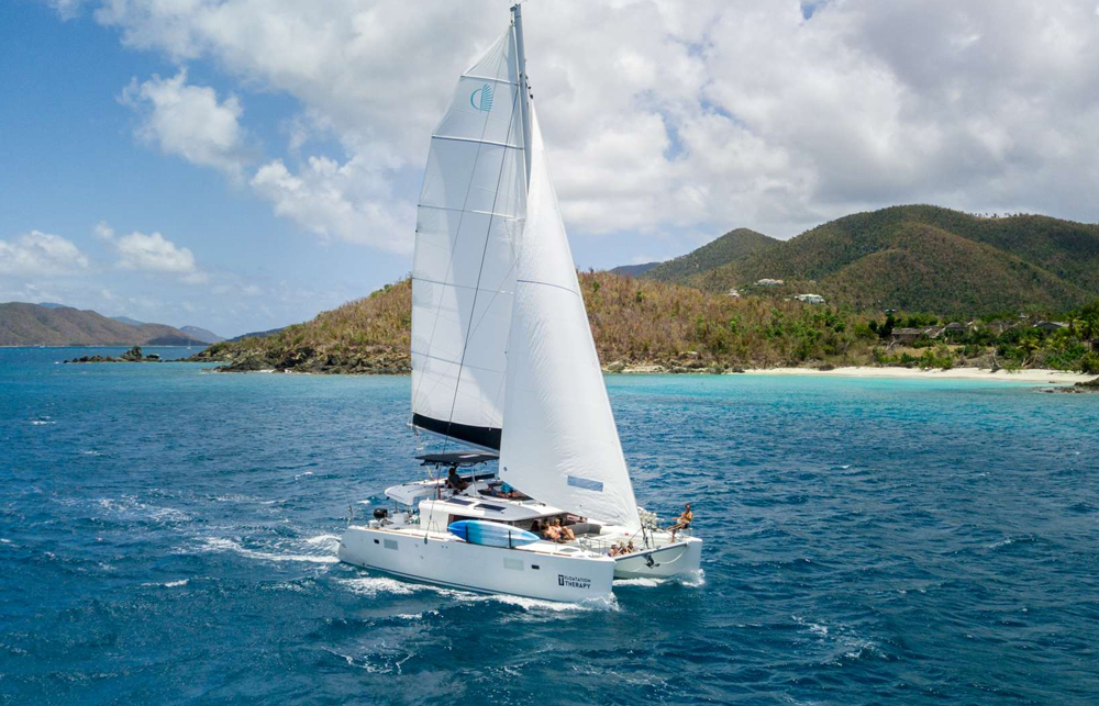 Floatation Therapy Crewed Catamaran Charter