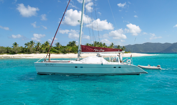 Flying Ginny Crewed Catamaran Charter