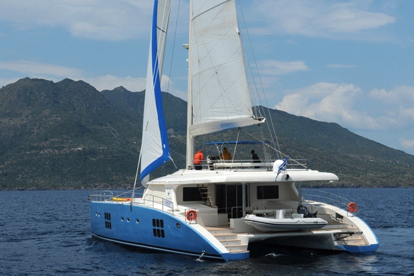 Free Spirit Crewed Catamaran Charter