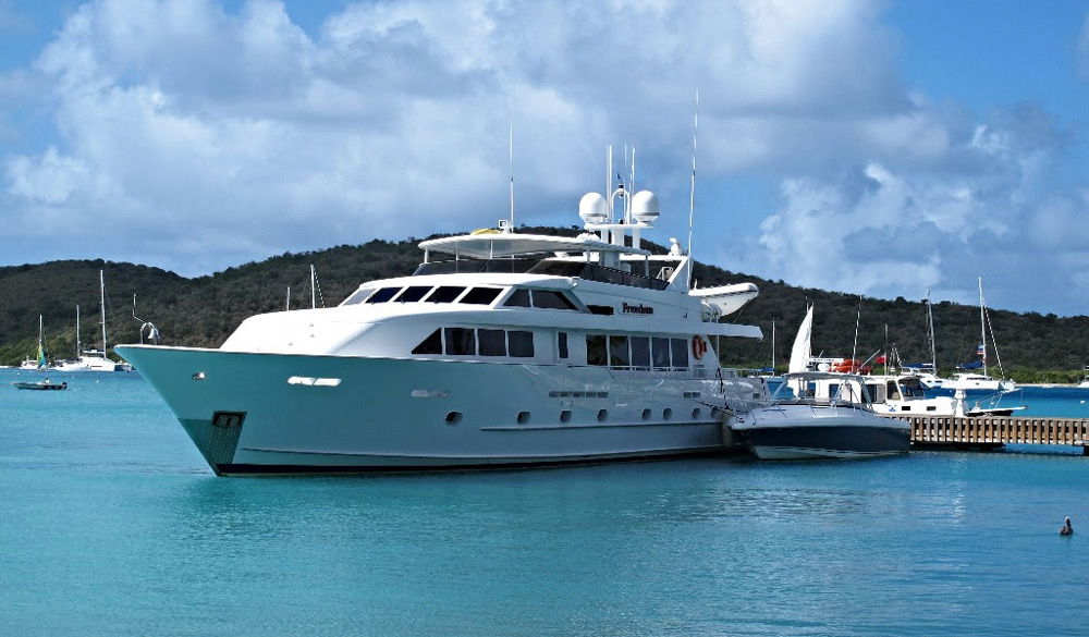 Freedom Crewed Power Yacht Charter