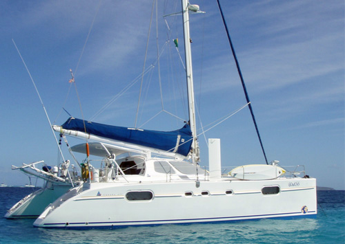 Genesis Crewed Catamaran Charter