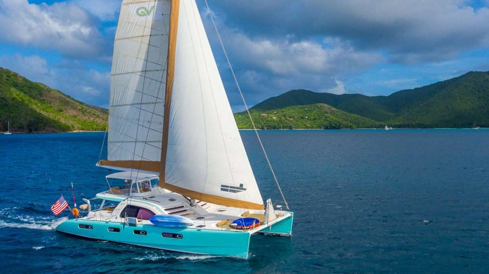Good Vibrations Crewed Catamaran Charter