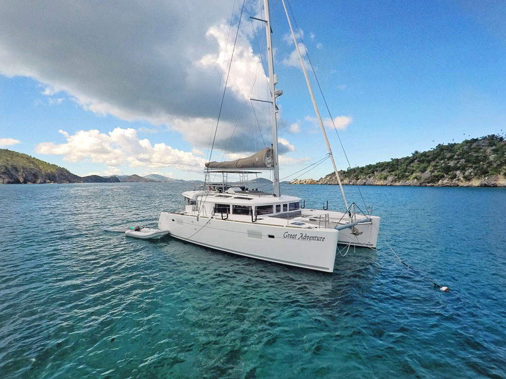 Great Adventure Crewed Catamaran Charter