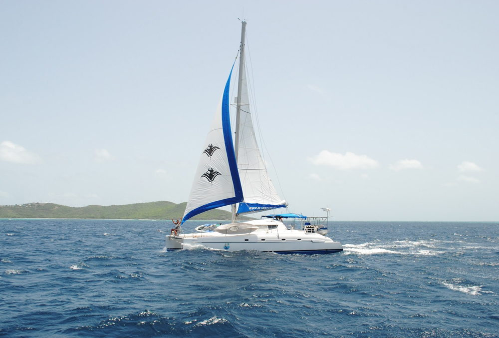 Imagination Crewed Catamaran Charter