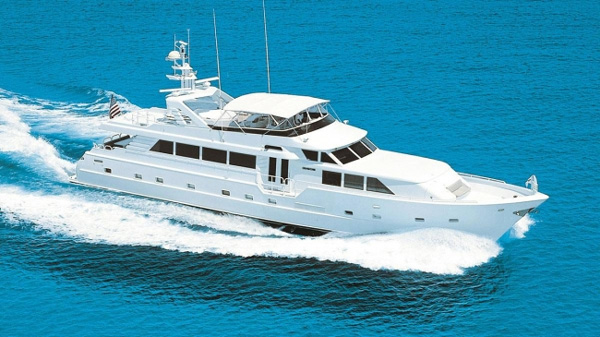 Insatiable Crewed Power Yacht Charter