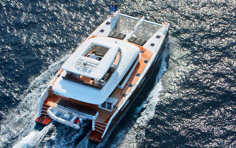 Jans FeLion Crewed Power Yacht Charter