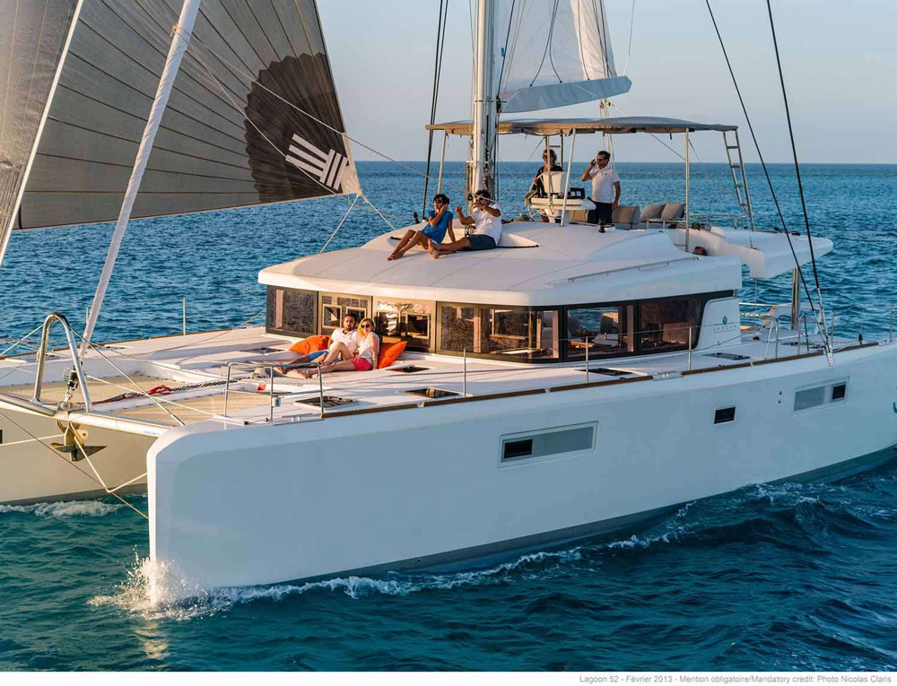 Joy 52 Crewed Catamaran Charter