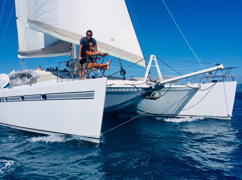 Kelea Crewed Catamaran Charter