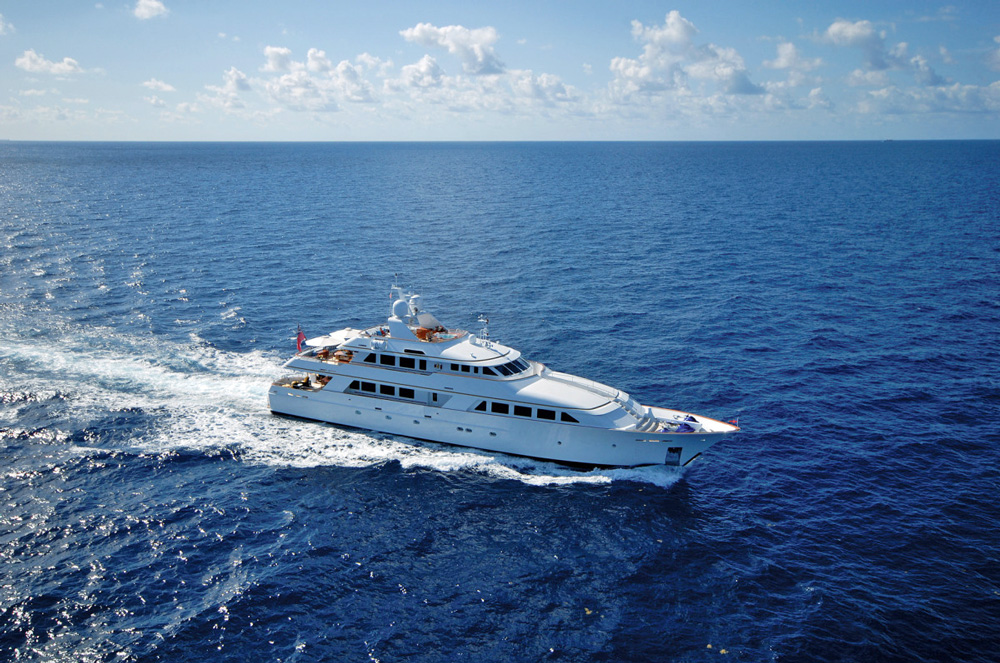 Lady J Crewed Power Yacht Charter