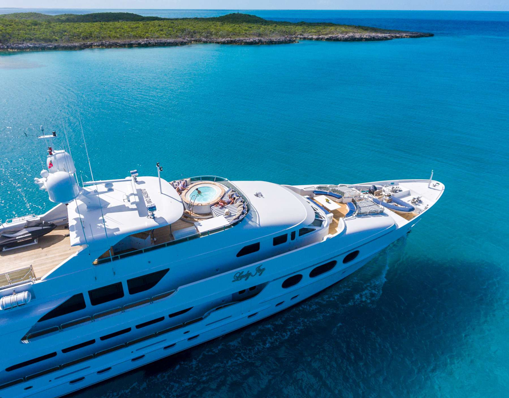 Lady Joy Crewed Power Yacht Charter