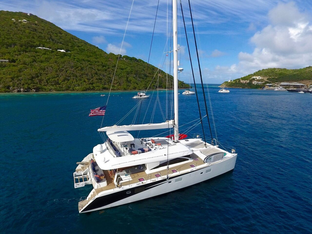 Lady Katlo Crewed Catamaran Charter