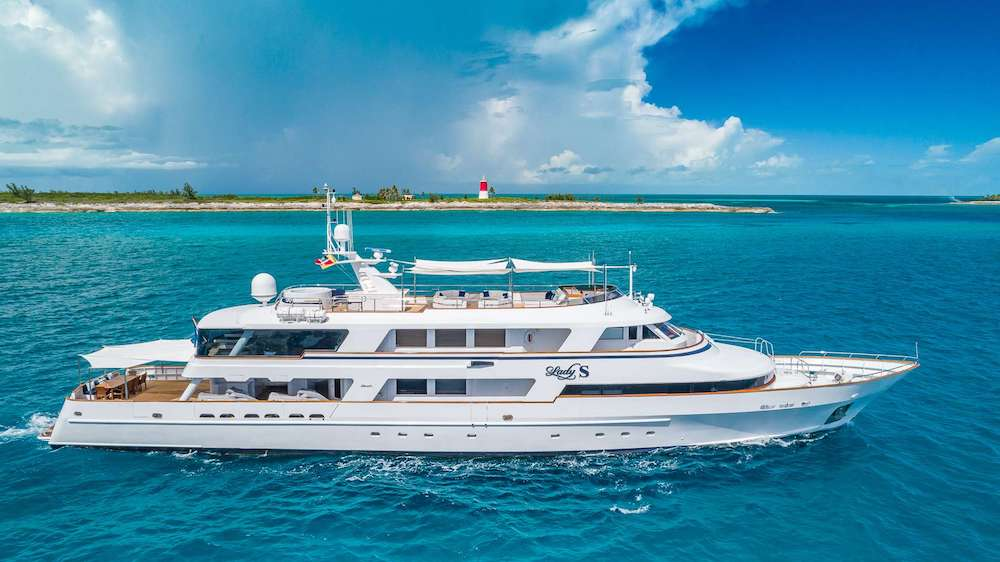 Lady S Crewed Power Yacht Charter