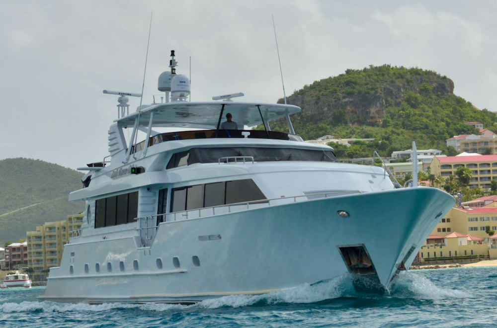 Lady Sharon Gale Crewed Power Yacht Charter