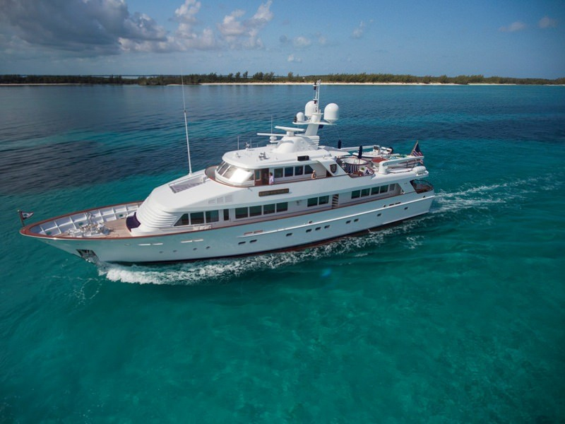 Lady Victoria Crewed Power Yacht Charter
