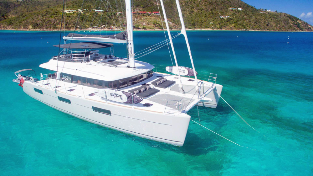 Le Reve Crewed Catamaran Charter
