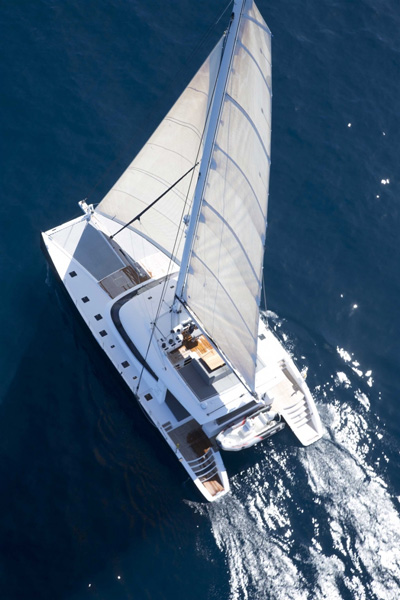 Levante Crewed Catamaran Charter