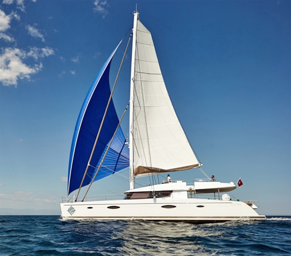Lir Crewed Catamaran Charter