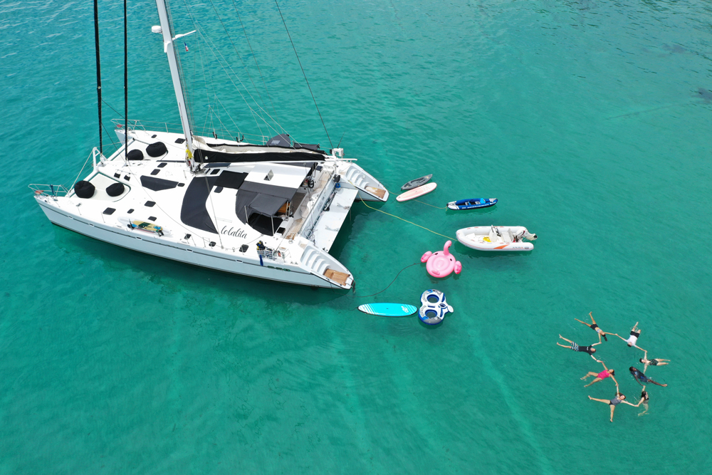 Lolalita Crewed Catamaran Charter
