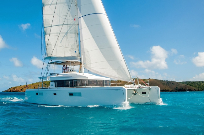 Lotus Crewed Catamaran Charter