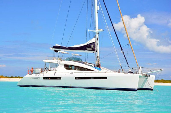 Luar Crewed Catamaran Charter