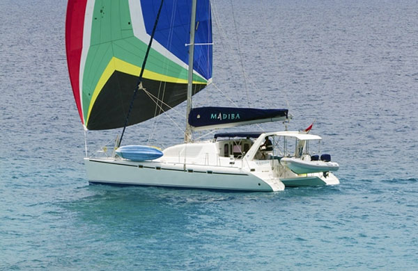 Madiba Crewed Catamaran Charter