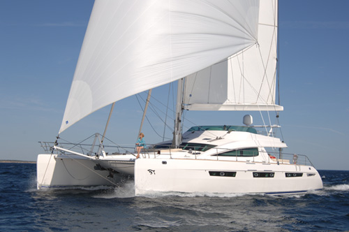 Matau Crewed Catamaran Charter