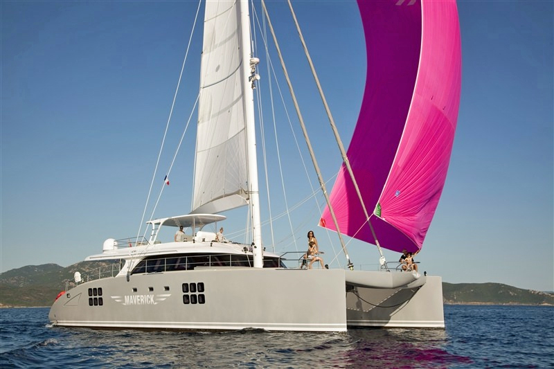 Maverick Crewed Catamaran Charter